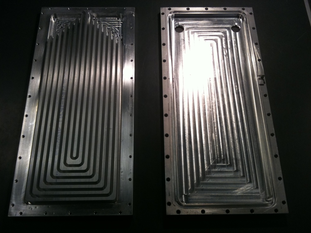 Inside the heat sink