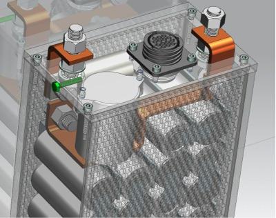 Battery module design