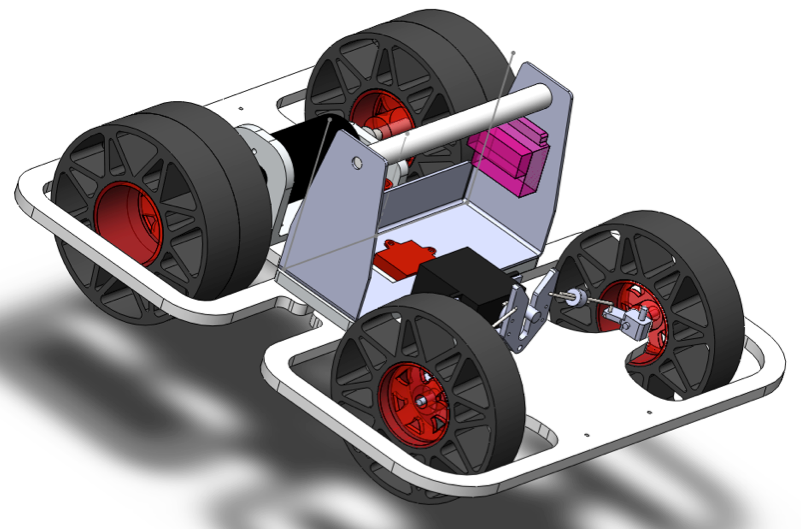 CAD view of entire car