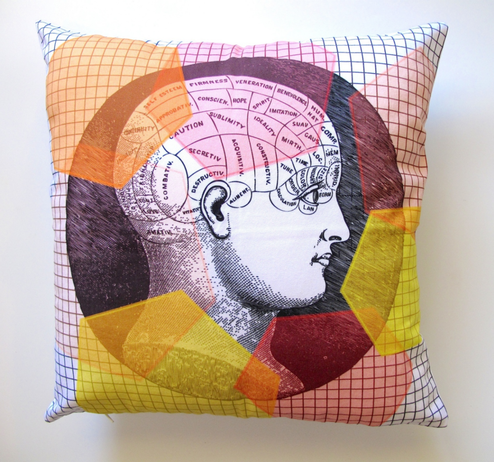 Anatomy Cushion Cover from Simpleintrigue.com