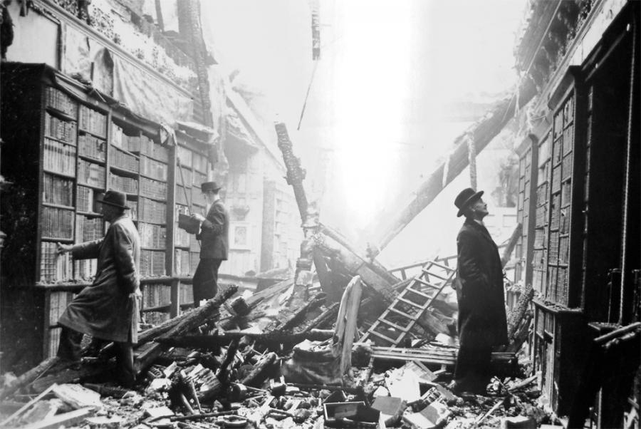 London Library After the Blitz.jpg