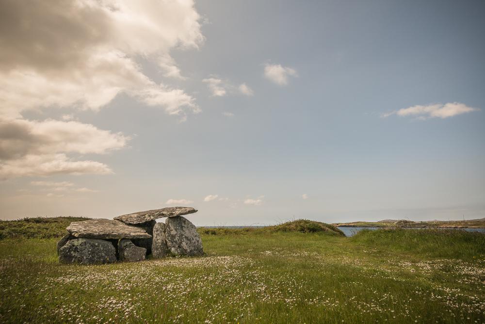 Steinformation auf Mizen Halbinsel