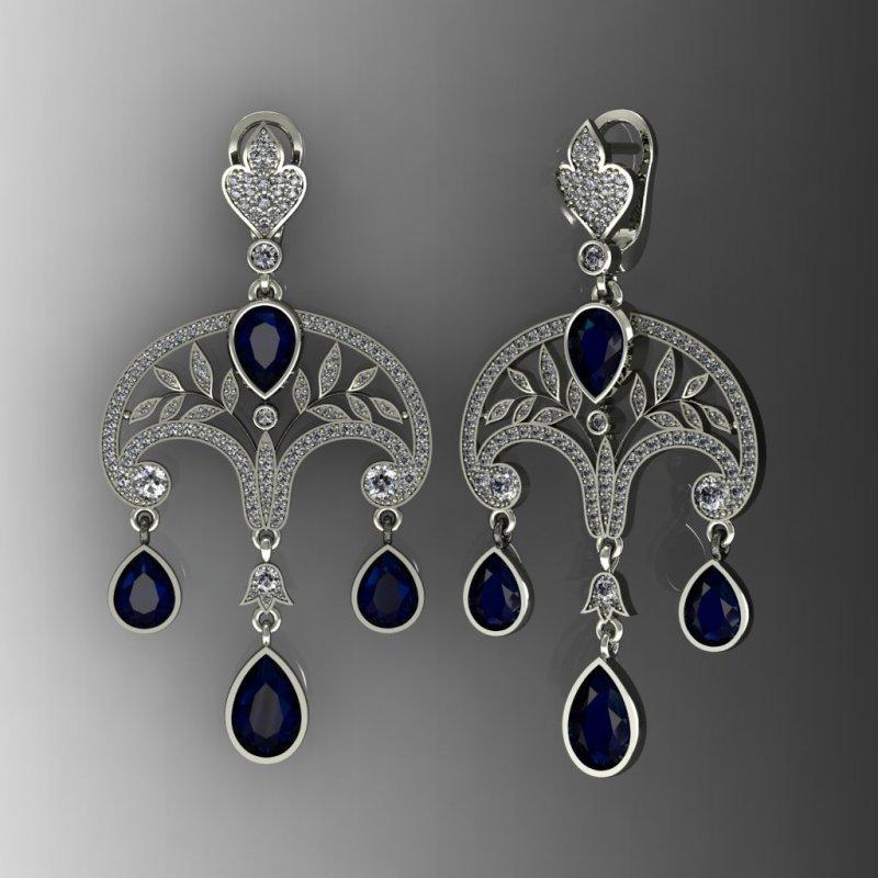 серьги Принцесса Ирина для Axenoff Jewellery.jpg