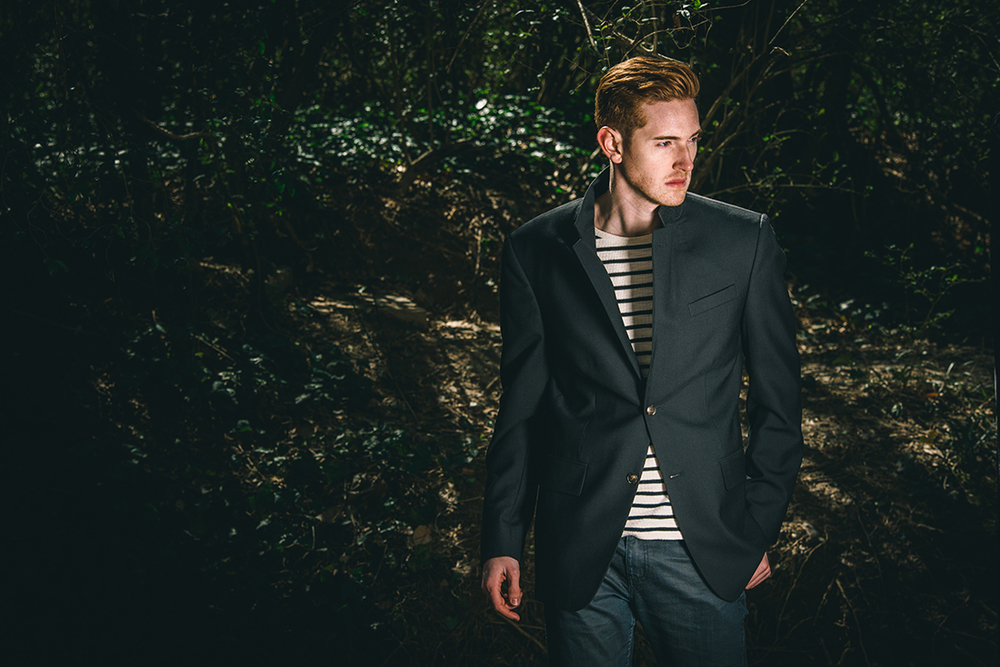 Editorial photography by Jeff Walton (Model: Blake Ballard)