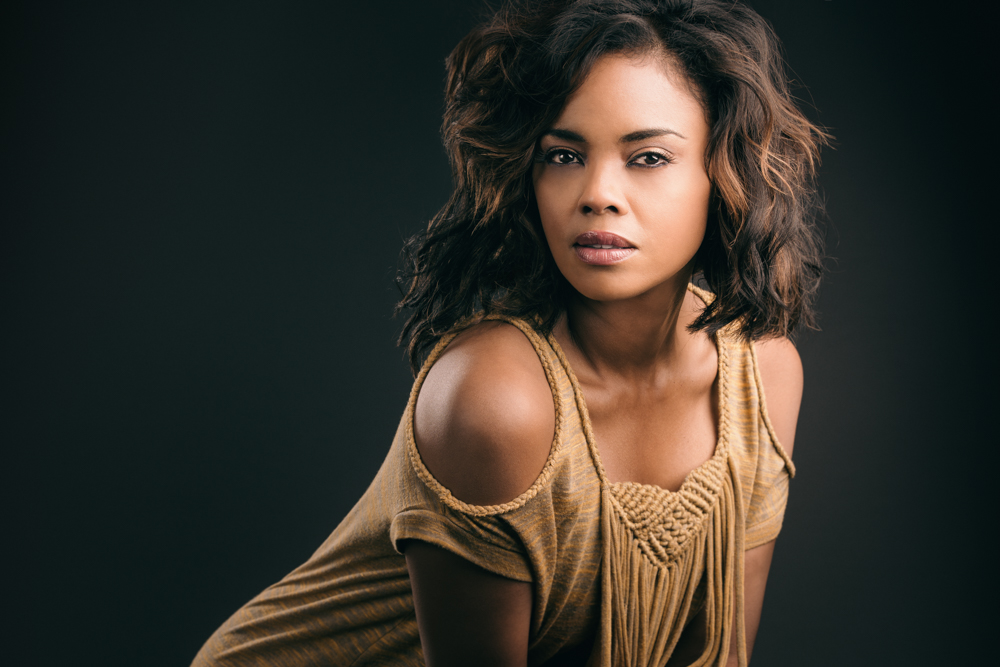 Actress Sharon Leal photographed by Jeff Walton