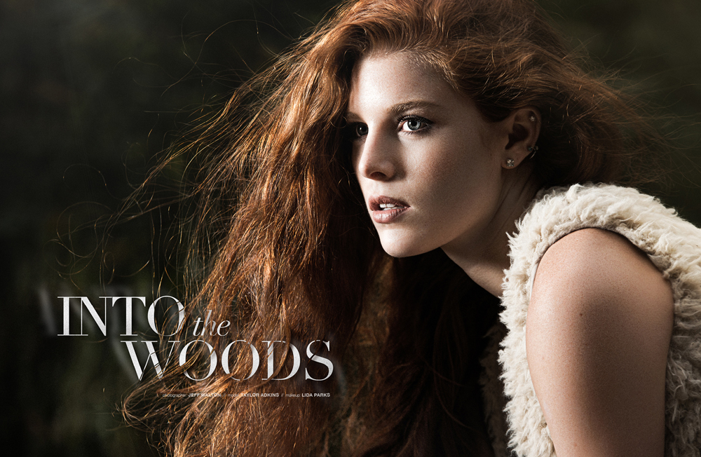 Into the Woods editorial by Jeff Walton Photography