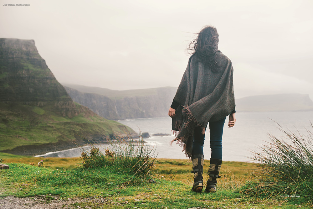 Editorial photography by Atlanta based photographer Jeff Walton. Isle of Skye, Scotland.