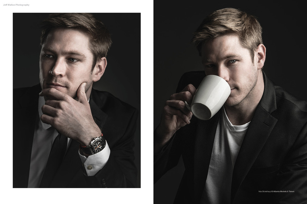Editorial photography by Atlanta based photographer Jeff Walton. Actor Max Bickelhaup of Atlanta Models and Talent.