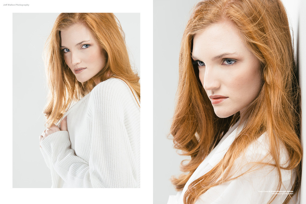 Editorial photography by Atlanta based photographer Jeff Walton. Karen Powell of Ursula Wiedmann Models.