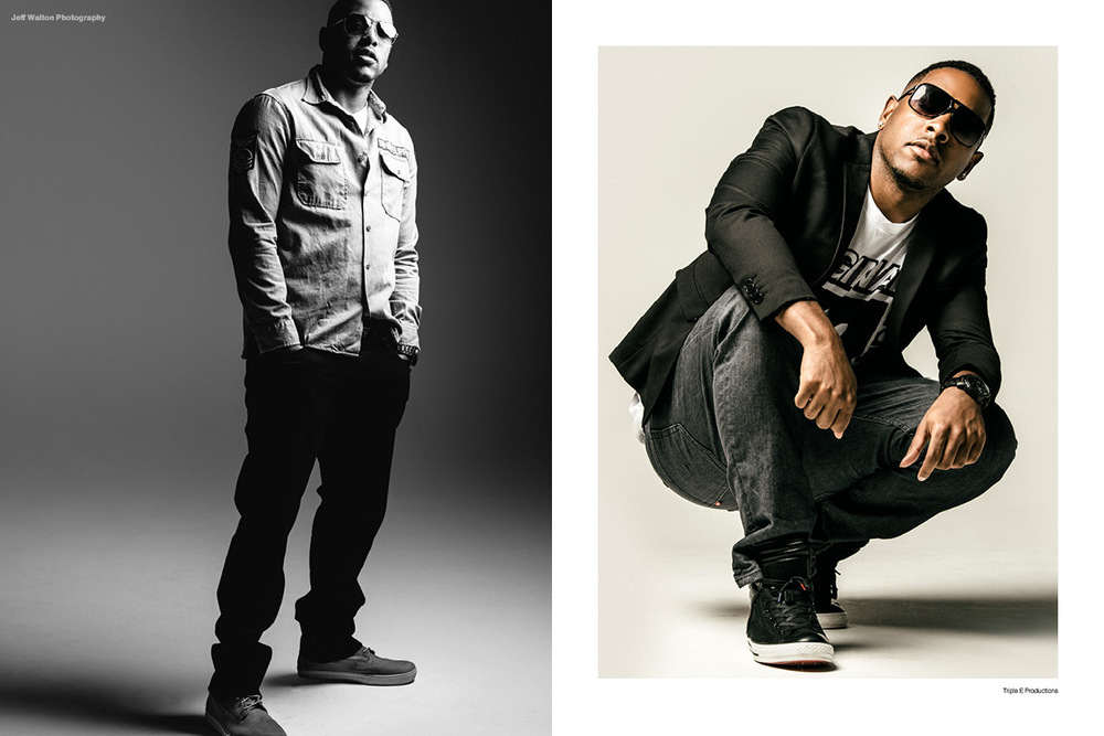 Commercial photography by Atlanta based photographer Jeff Walton for hip-hop artist album art.