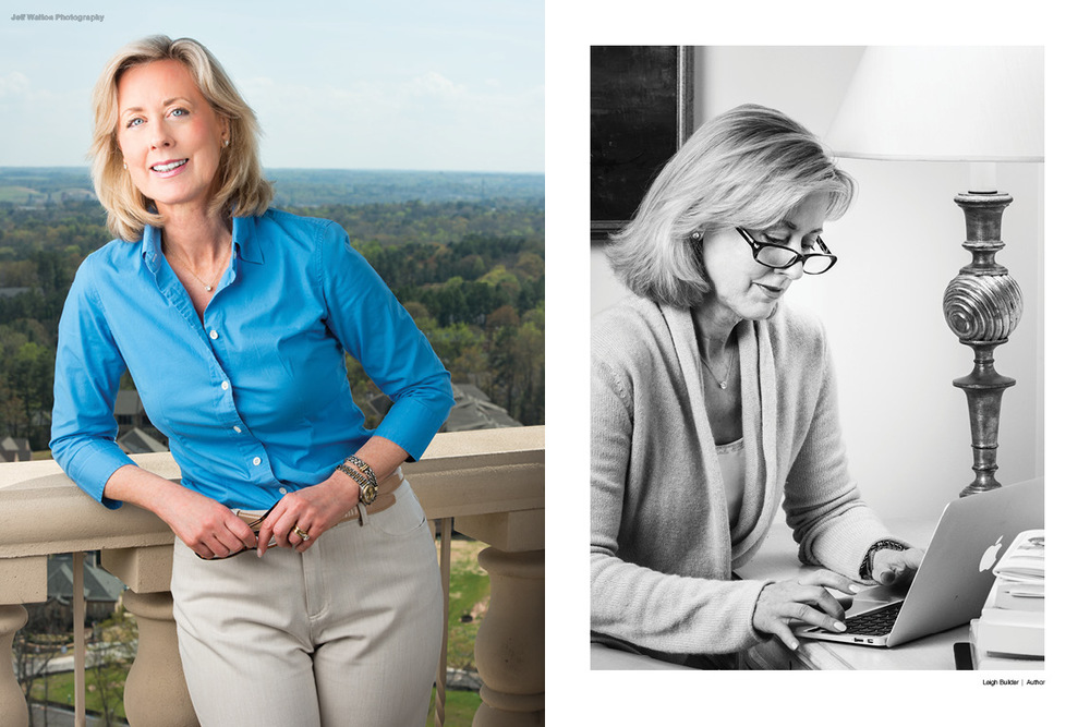 Commercial portrait photography by Atlanta based photographer Jeff Walton for an author.