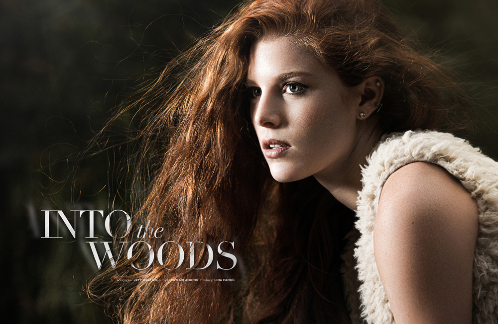 """Into the Woods"" - an editorial by Jeff Walton Photography (model: Taylor Adkins)"