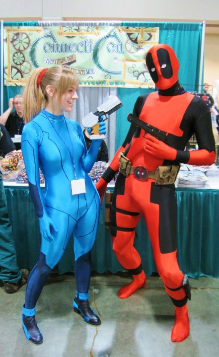 That's me in my Samus cosplay.