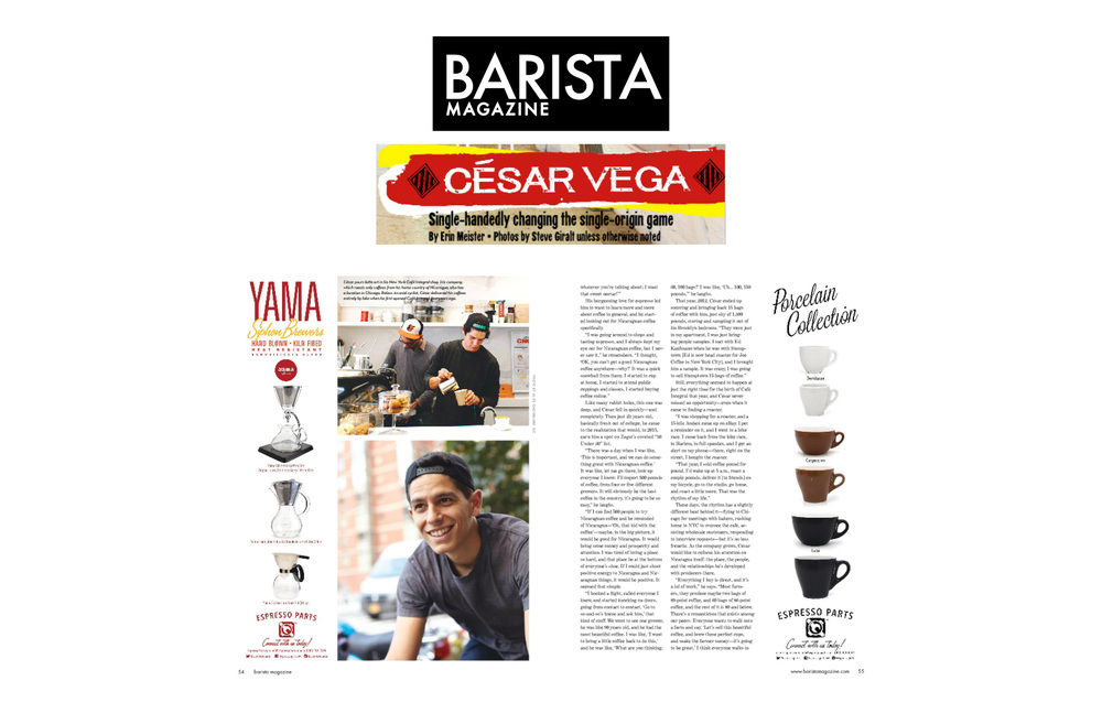 BARISTA MAGAZINE OCTOBER 2015