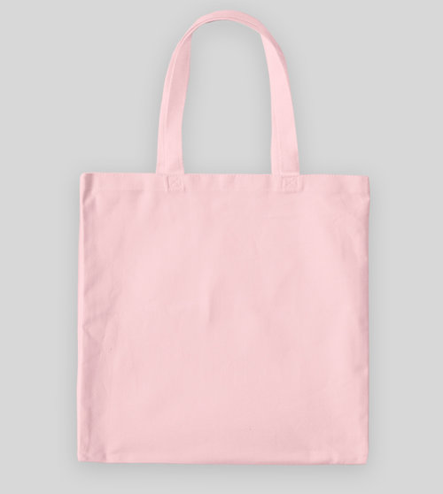 Light Pink Canvas Tote Bag