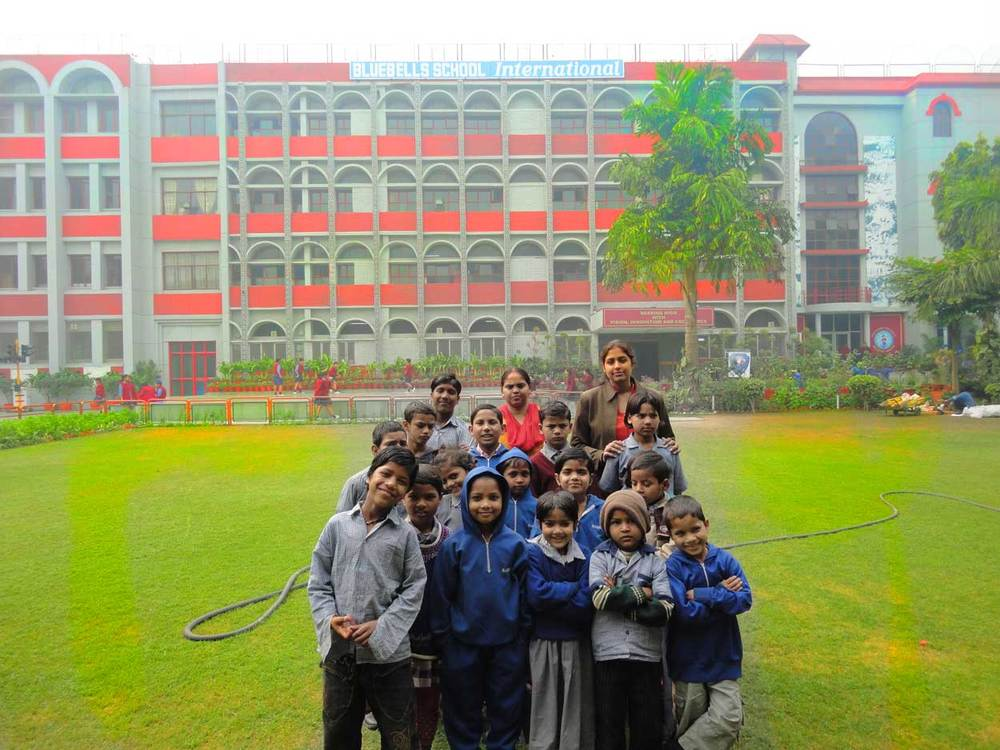 Students of Ankuran.