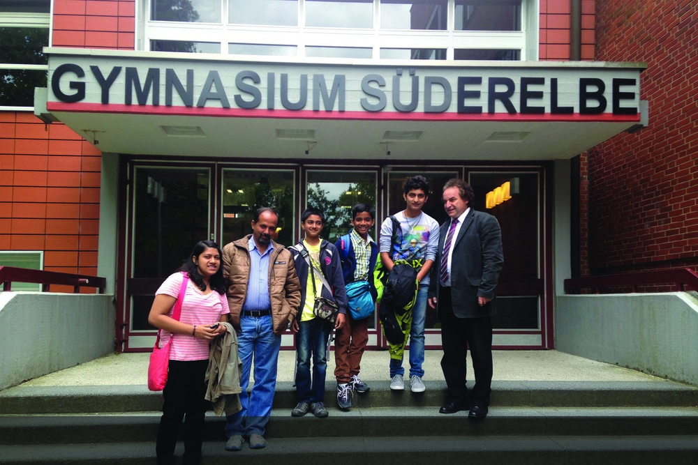 Bluebells School visits Gymnasium Suderelbe School, Hamburg, Germany