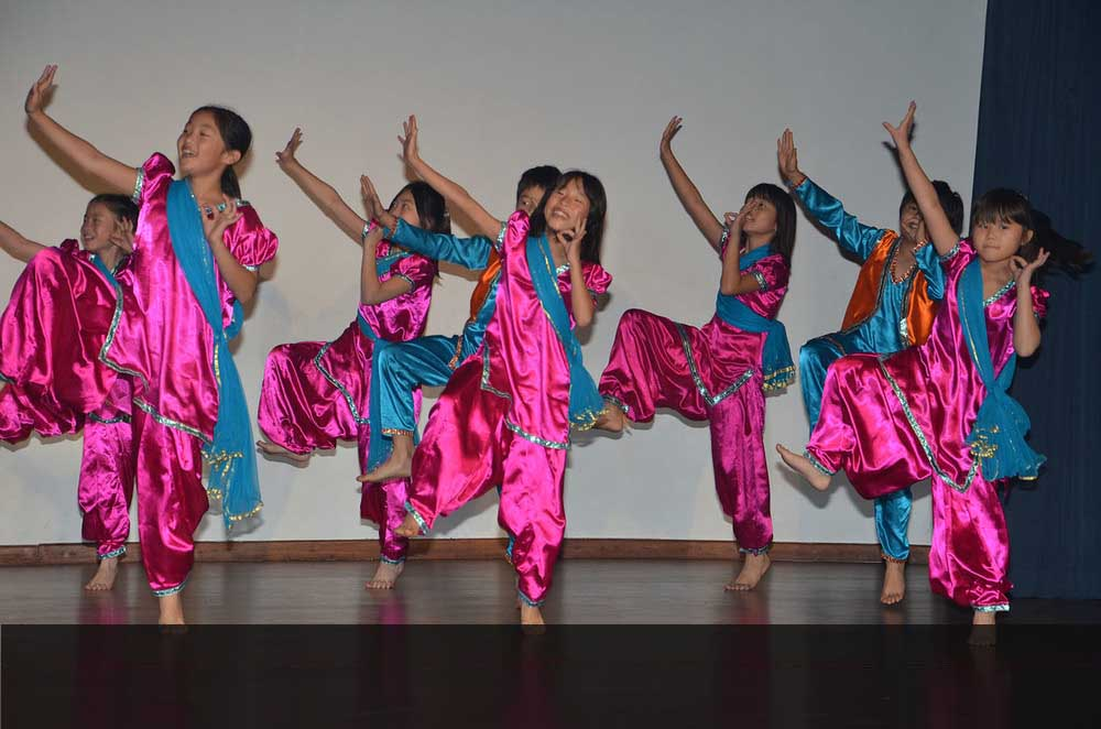 India Day - Jointly celebrated by the Japanese Embassy School & Bluebells School