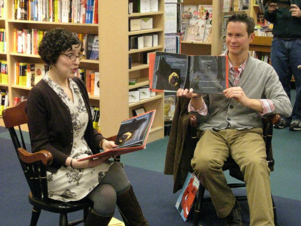 Kara LaReau reads at Porter Square Books in Cambridge, MA.