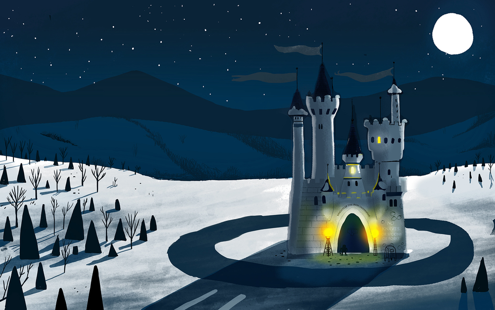 The Knights' Castle Lit