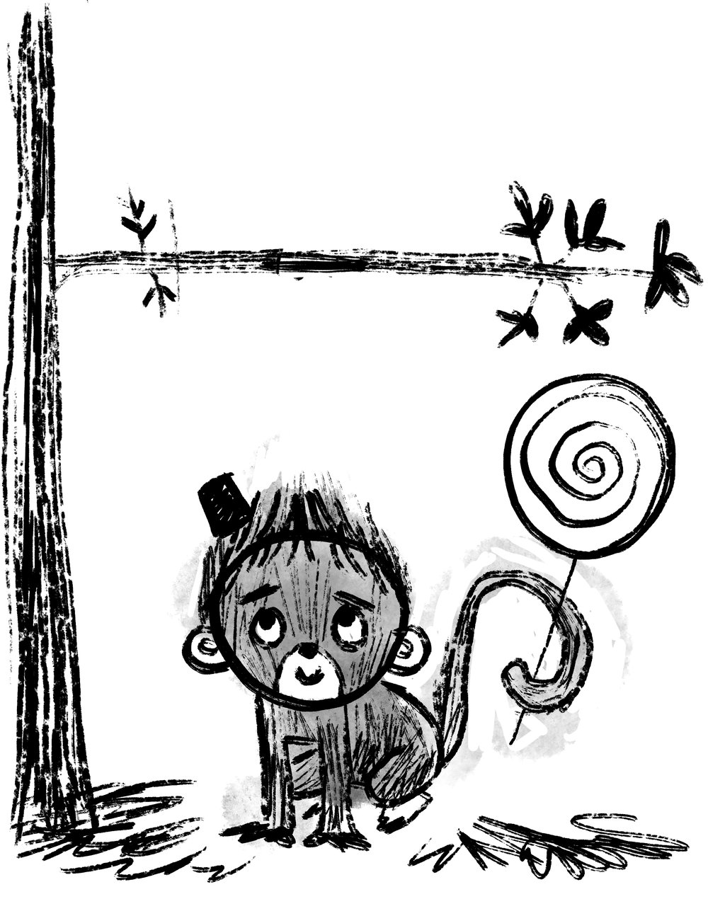Monkey development sketch