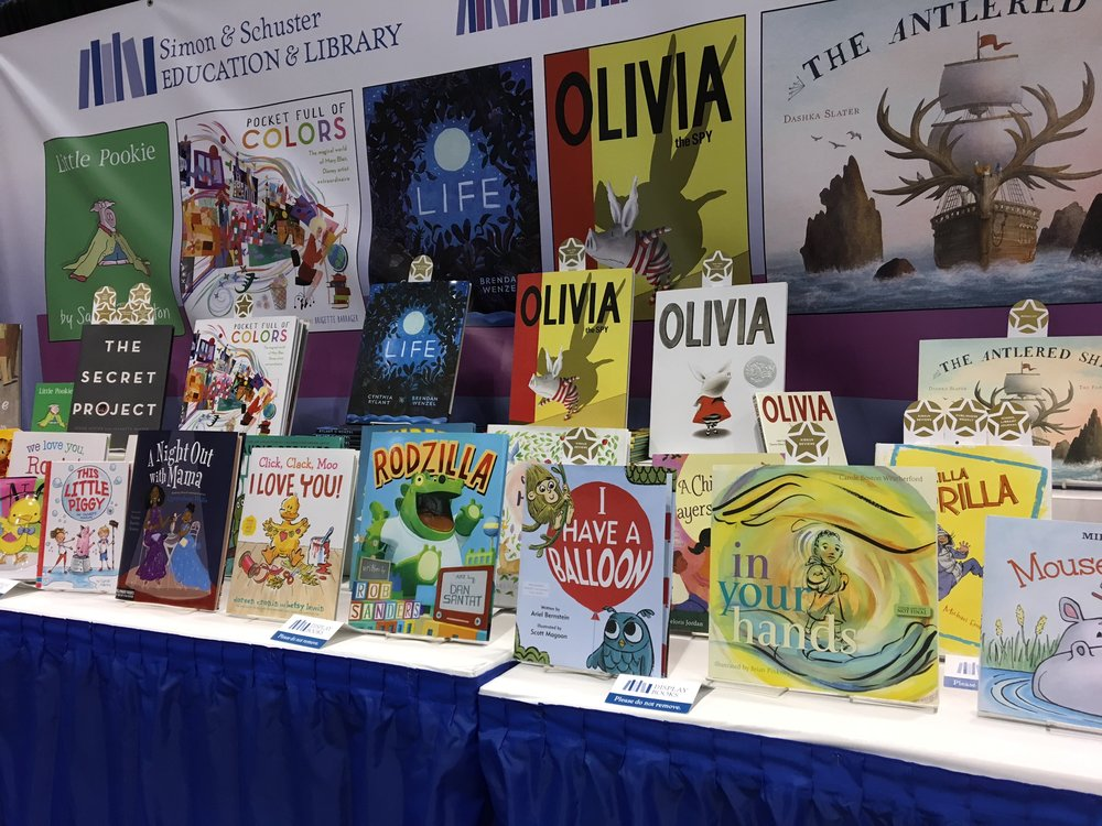 I HAVE A BALLOON in great company at ALA Midsummer '17 in Chicago.