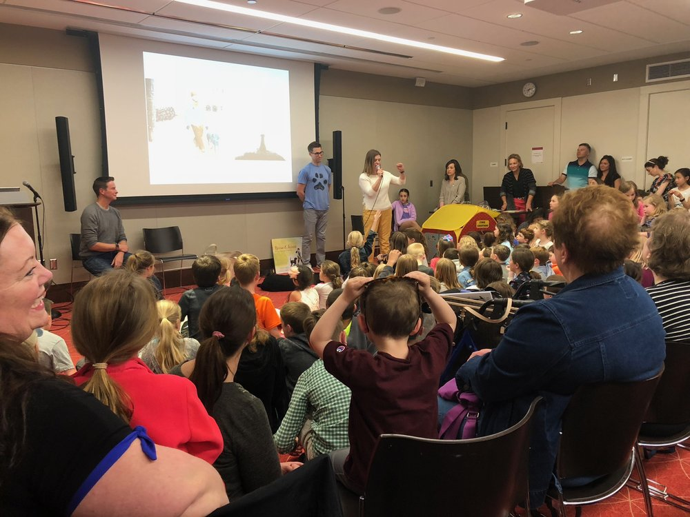 At my hometown Reading Public Library. What an awesome night.