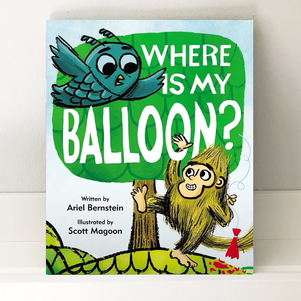 Sequel Alert! - Owl has a balloon. Monkey has a sock with a star and a perfectly shaped hole. But then Owl asks Monkey to hold his balloon, just for a second. What do you think happens? POP! When Owl returns and asks for his balloon, Monkey offers him everything under the sun…except for the balloon. Can their friendship survive this catastrophe? Learn more.