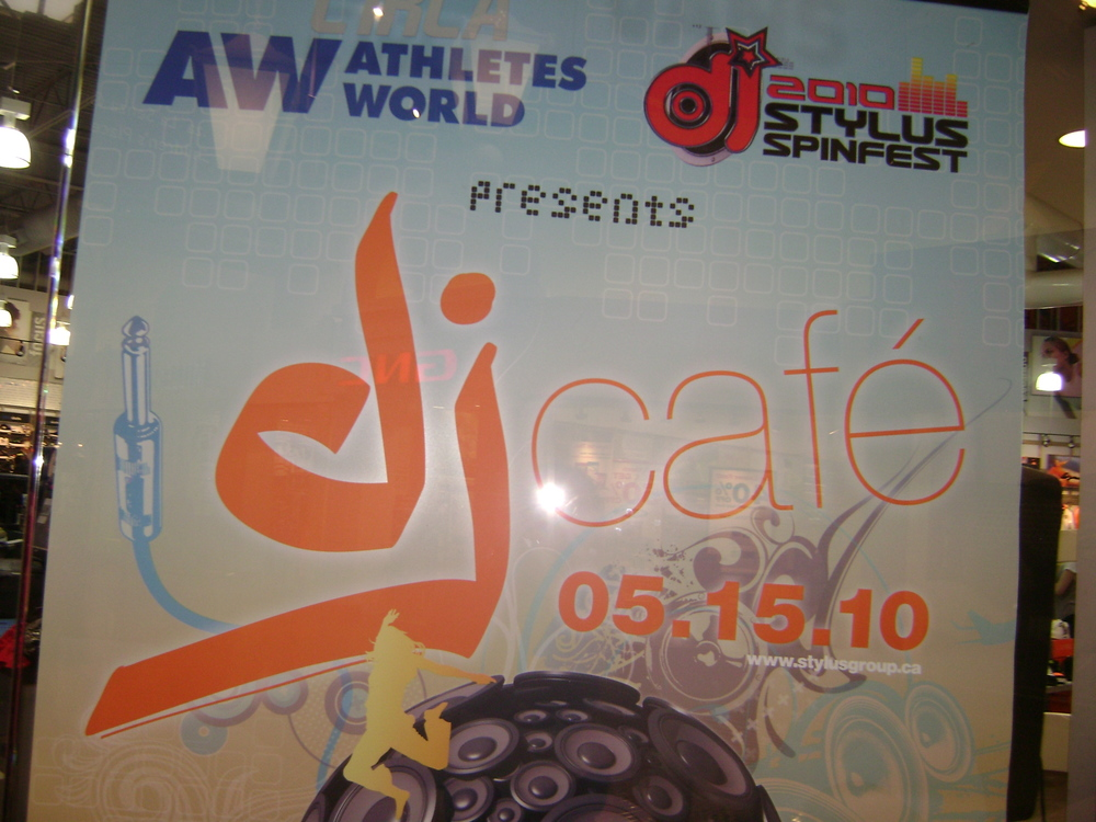 'DJ Cafe' National In-Store Appearence Campaign