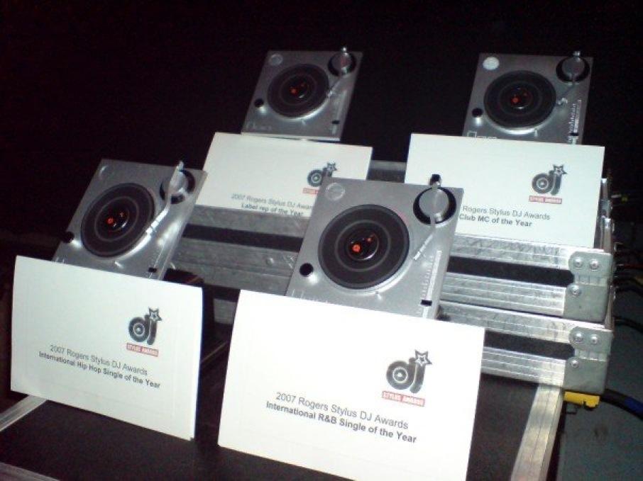 The 2008 Toyota Yaris Stylus DJ Awards