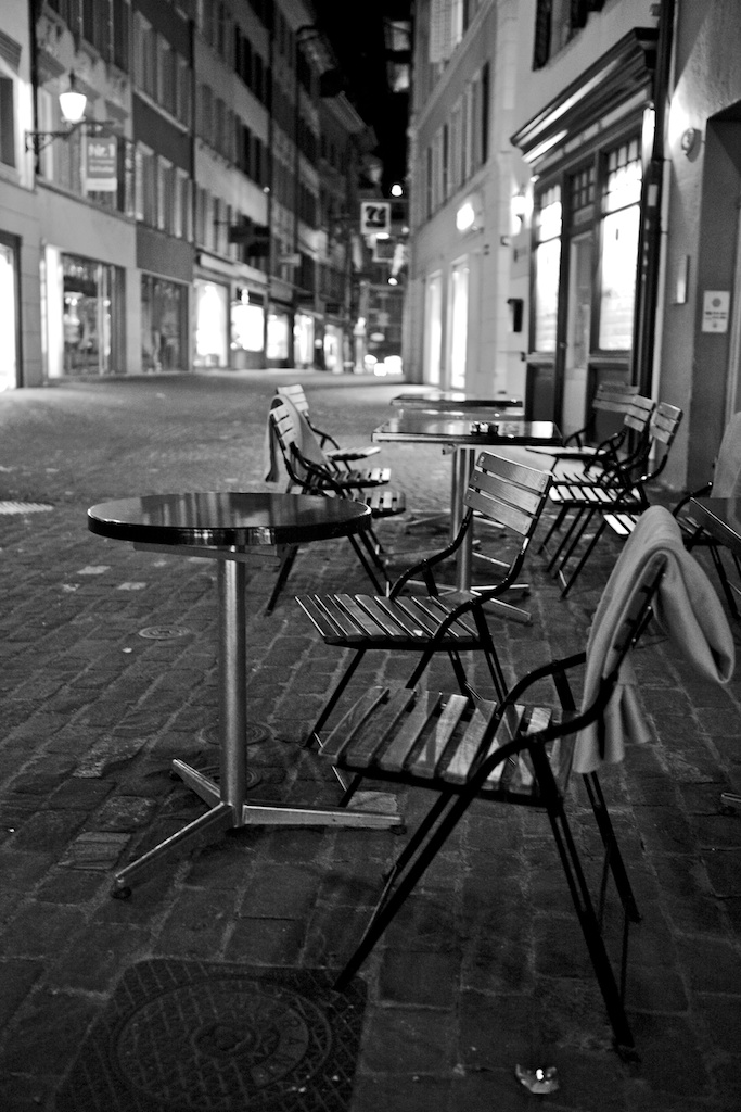 Cafe Evening