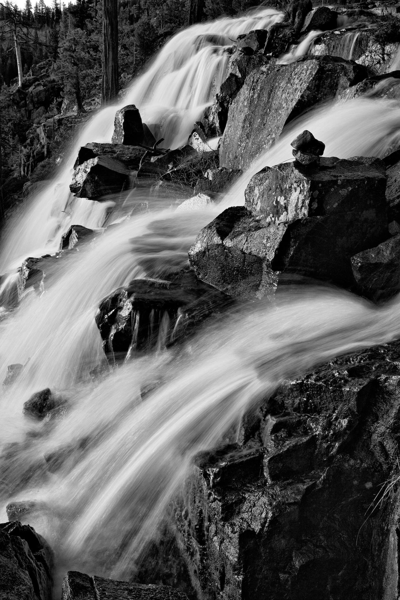 monochrome cascade