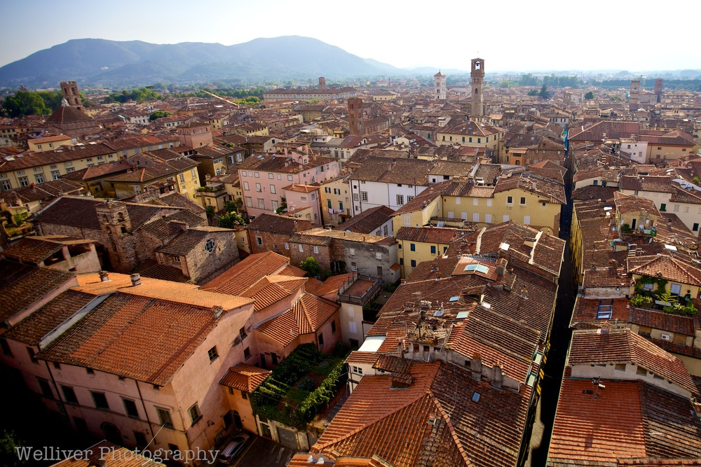 Lucca from above