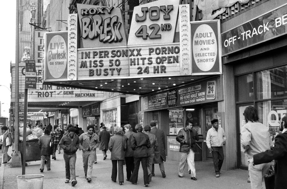 A photo of Times Square in 1976. CreditJack Manning/The New York Times