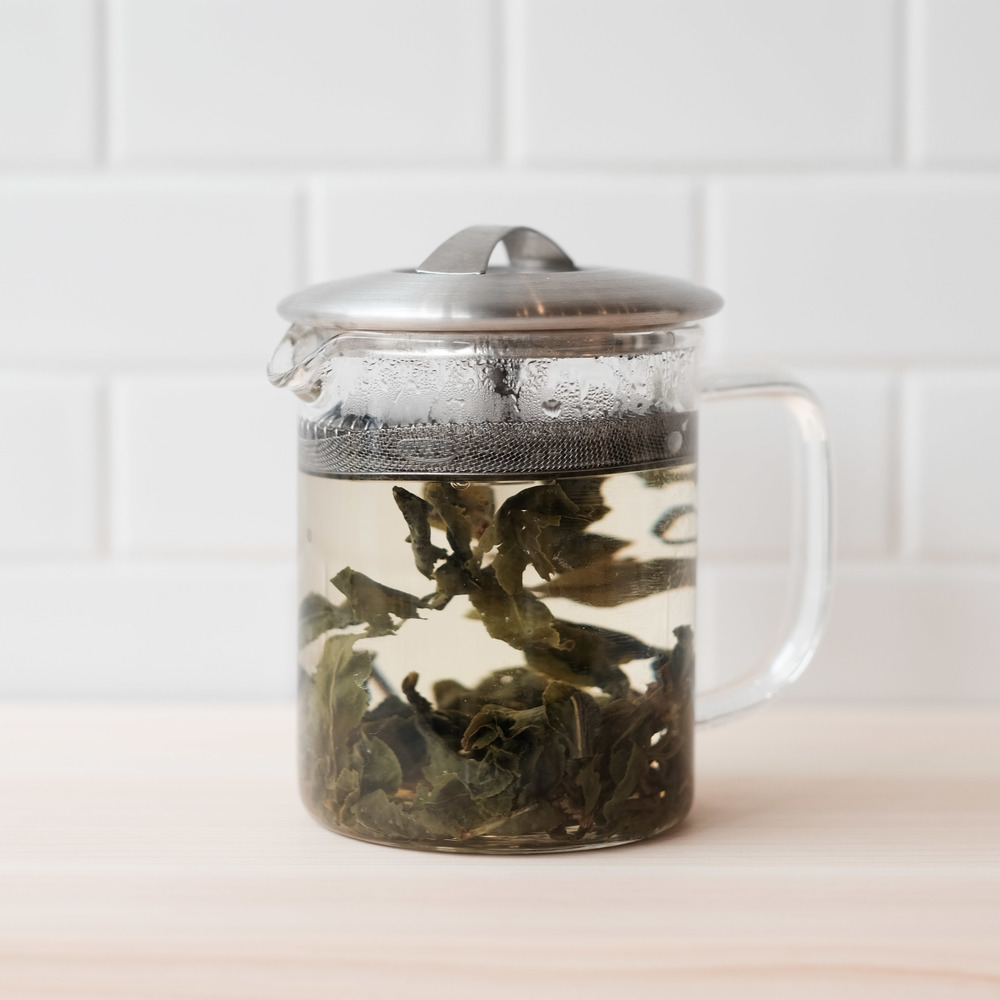 1. We brew real tea leaves, no powders.     We're a boba shop that uses zero powders only real tea leaves from  Tea People . All of our teas are steeped in house, from premium loose leaf teas that we've sourced from around the world and some even blended ourselves.