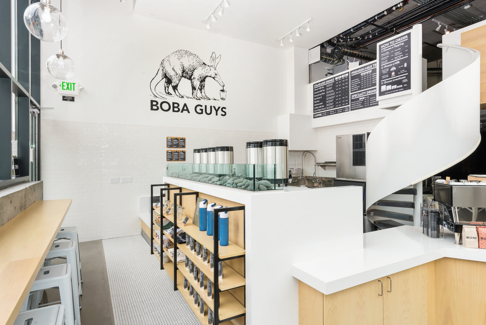 Boba Guys - Hayes Valley 8 Octavia St. #308 San Francisco, CA 94102 Tue-Thu: 9am - 9pm Fri: 9am - 10pm Sat: 12pm - 10pm Sun: 12pm - 6pm