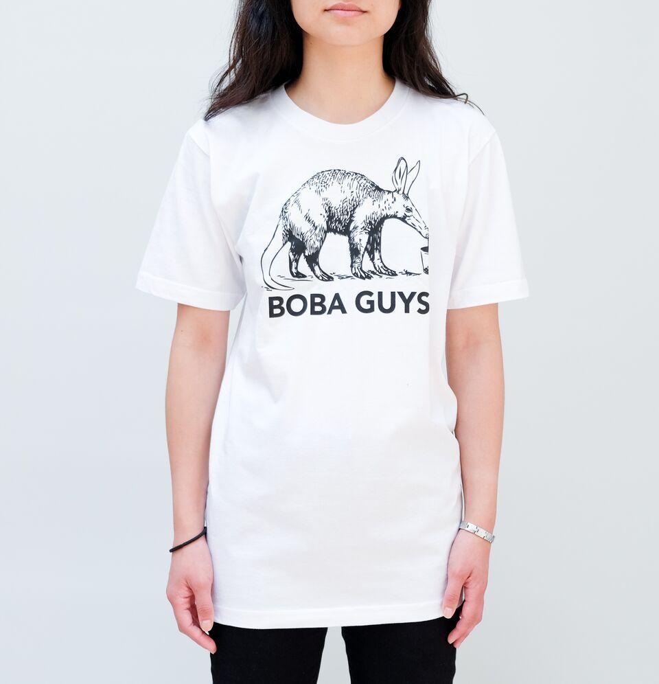 Boba Guys Logo T Shirt Boba Guys Serving The Highest Quality