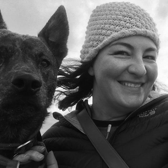 Kellee (designer) and Auggie (muse) enjoying the Oregon Coast - Winter 2016.  Photos courtesy of Gypsy Gardner.