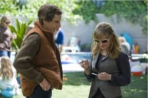 Ben Stiller and Jennifer Jason Leigh in GREENBERG photo courtesy IMDb