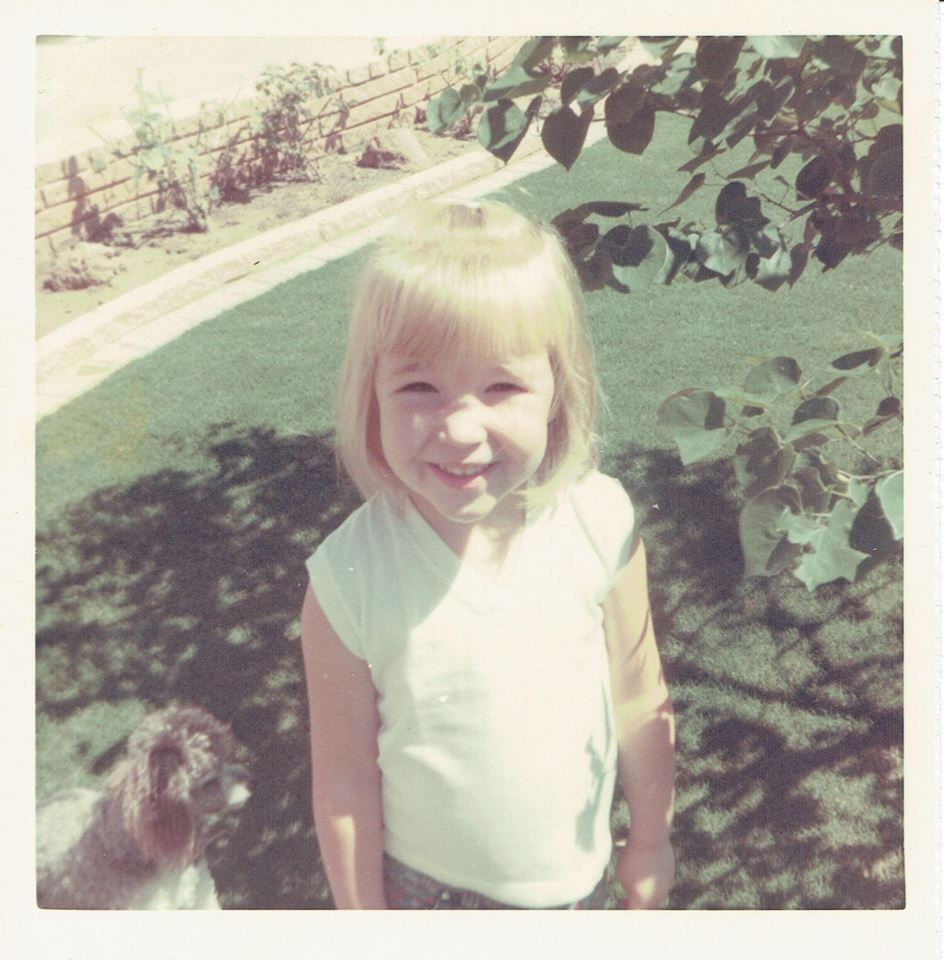 Nancy at age 4, 1968