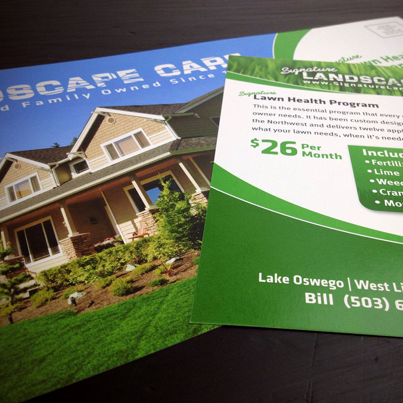 Signature Landscape Care Postcard