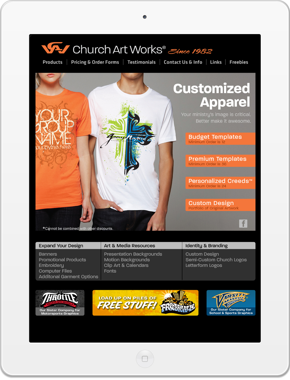 CAW Homepage in iPad.jpg