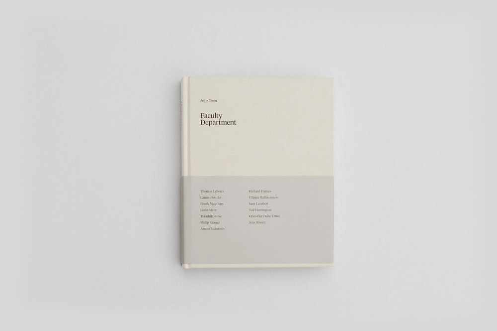 FACULTY DEPARTMENT — satsuki shibuya . journal