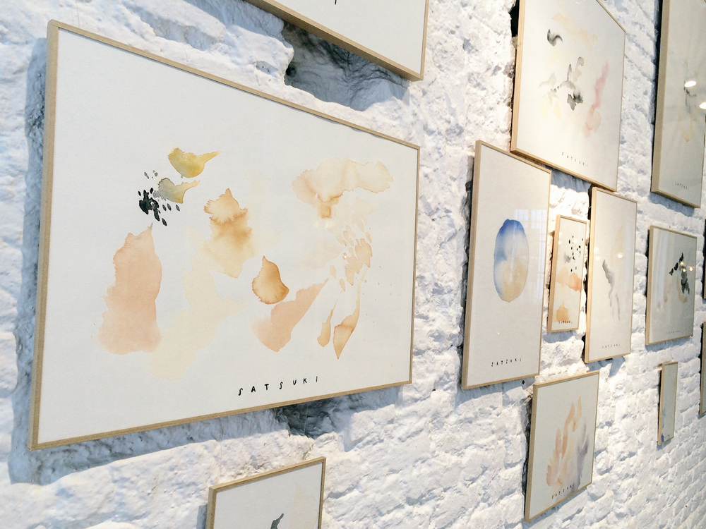INTO THE LIGHT EXHIBITION —satsuki shibuya . journal