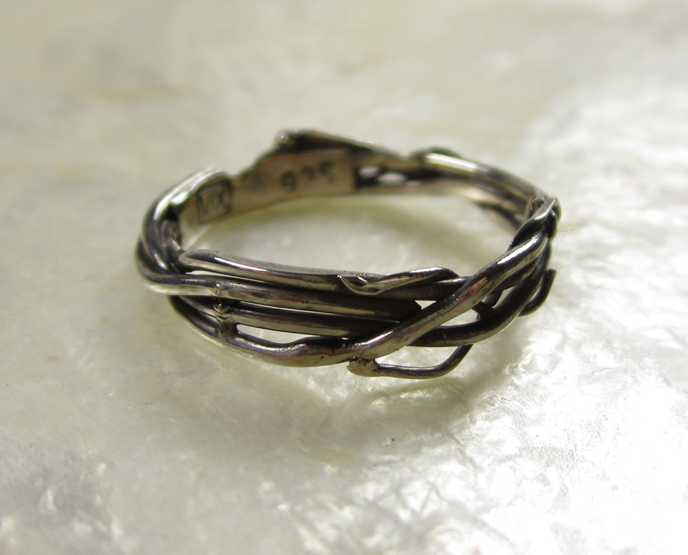 Sterling SilverTwiggy Ring