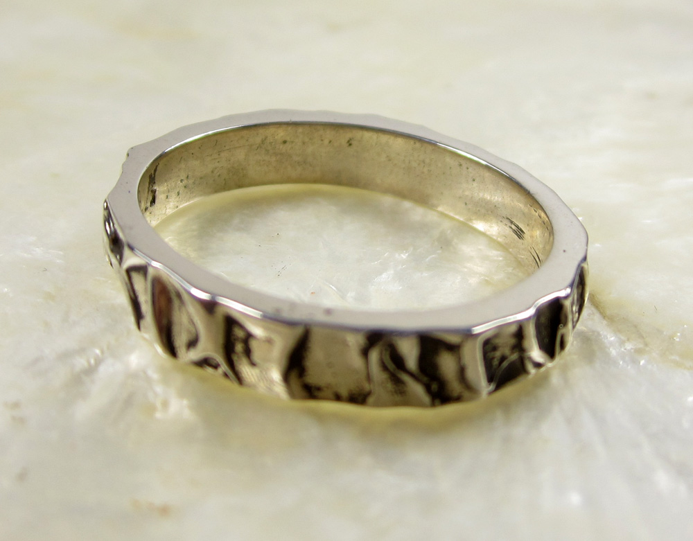 Bark Wedding Band