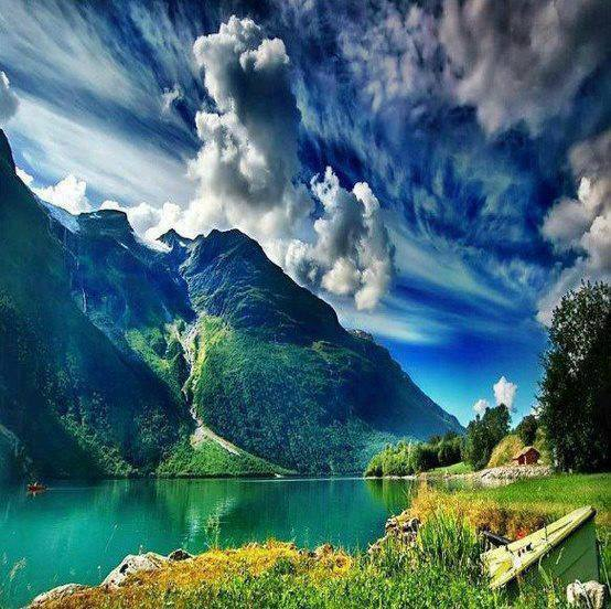 Mountain Valleys in Norway