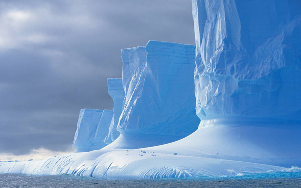 Mountains in the Antarctic