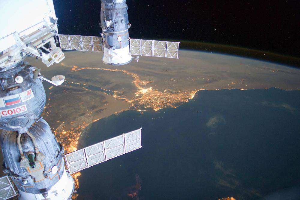 Egypt - a view from the Space Station