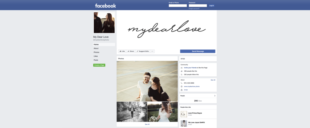 Facebook - Don't forget about Facebook!